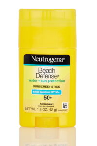 sunscreen stick